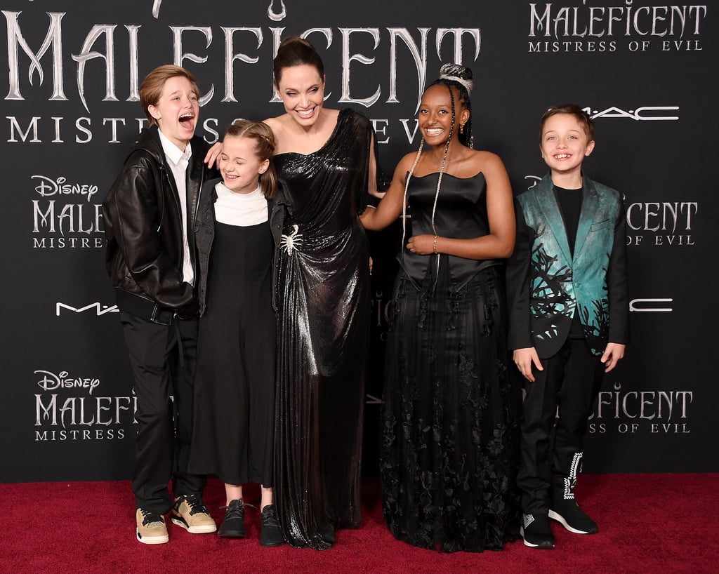In September 2019, the brood had a case of the giggles at the LA premiere of Maleficent: Mistress of Evil.