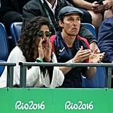 Matthew McConaughey and Camila Alves