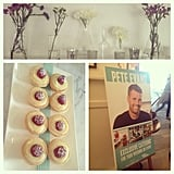 A delicious spread was put on at the launch of Watson's Bay Weddings, courtesy of Pete Evans.
