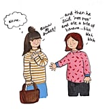 Mom Cartoons by Helene the Illustrator