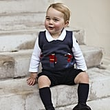 Prince George Smiling Pictures