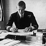 Working at the Petty Officers Training Centre at Corsham Wilts in 1947