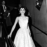 Audrey Hepburn Wearing Givenchy at the 1954 Oscars