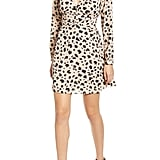 Socialite Print Button Dress