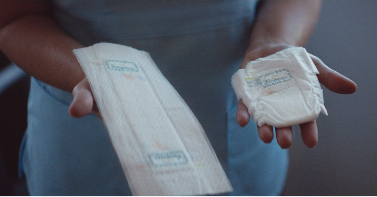PopsugarMomsBabiesPampers Flat Diapers For PreemiesPampers Officially Released a Flat Diaper For the