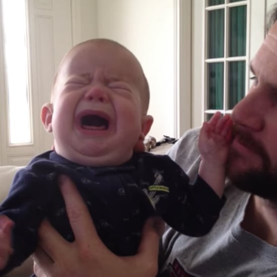 How Dad Soothes Baby Who Is Deaf and Blind Viral Video