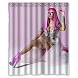 Nicki Minaj Shower Curtain