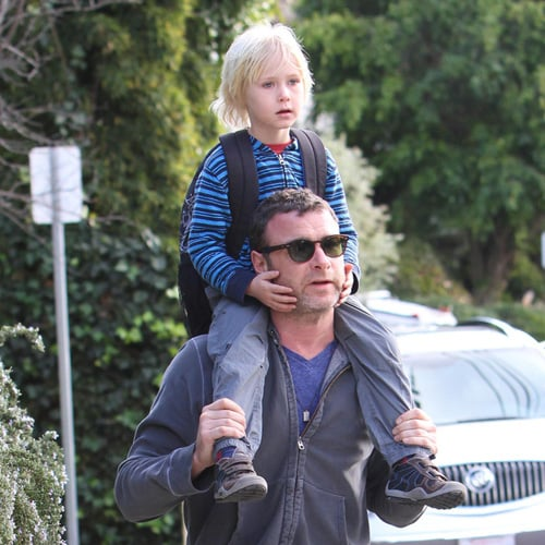 Liev Schreiber and Son Sasha Out in Los Angeles | Photos