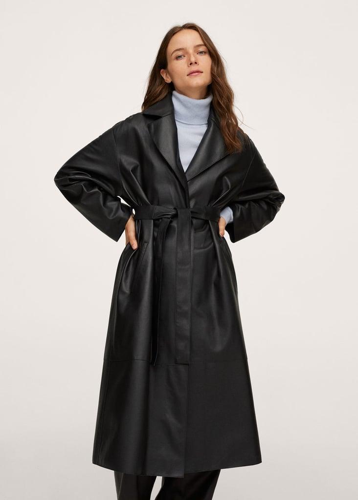Mango Oversized Fur Coat