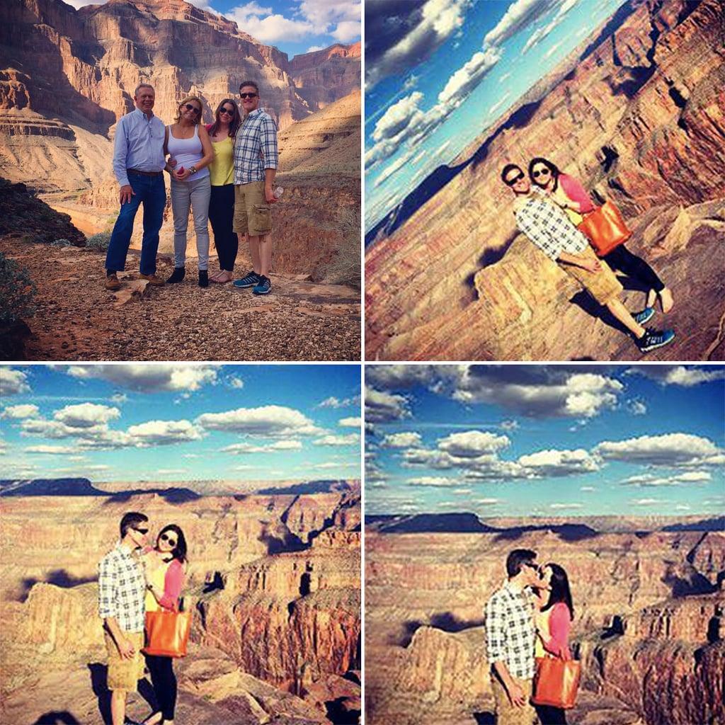 Brittany Maynard Visits Grand Canyon