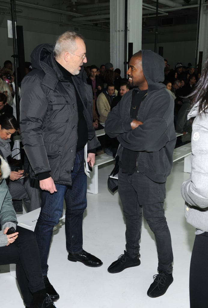 Kanye West at NYFW