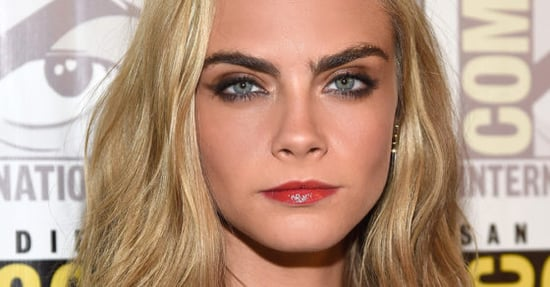 This Is Cara Delevingne's Alternative To A Necklace