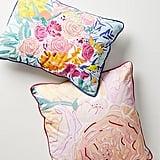 Bridgette Thornton Paint + Petals Pillow