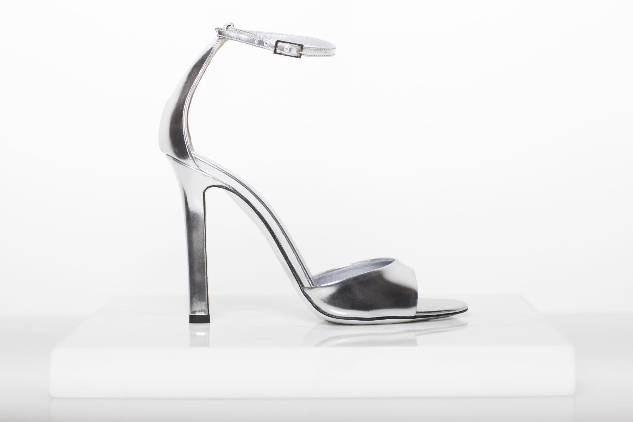Whisper Sandal in Specchio ($650) Photo courtesy of Tamara Mellon