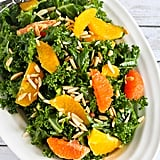 Kale, Toasted Almond, and Orange Salad