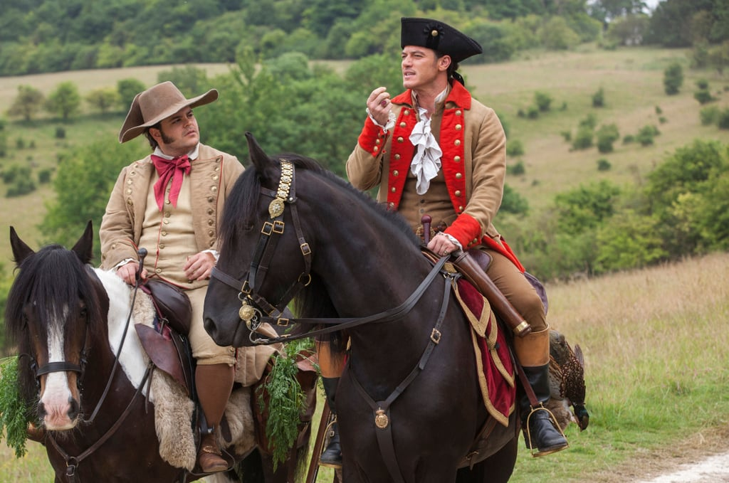 Gaston and LeFou's Beauty and the Beast Prequel Series Cast