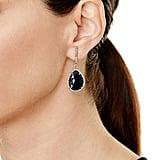Sheryl Lowe Sapphire Teardrop Earrings