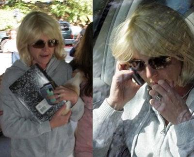 Britney Buys BlackBerry