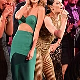 2014: She Showed Off More of Her Moves in the Audience
