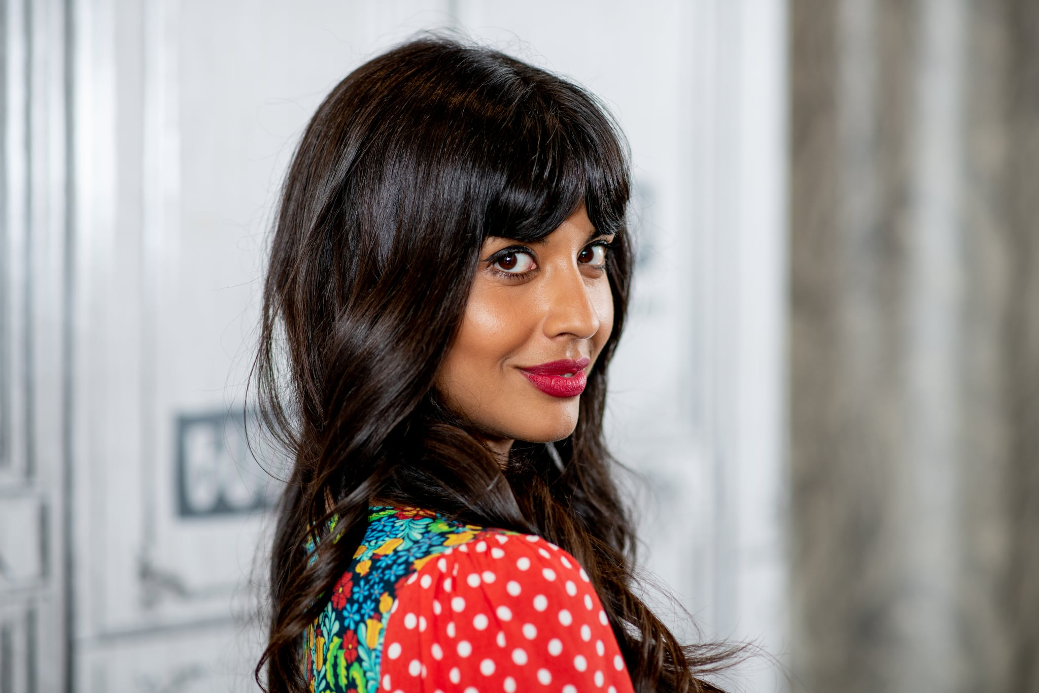 NEW YORK, NY - OCTOBER 02:  Jameela Jamil discusses