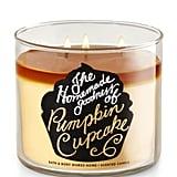 Pumpkin Cupcake candle ($23)