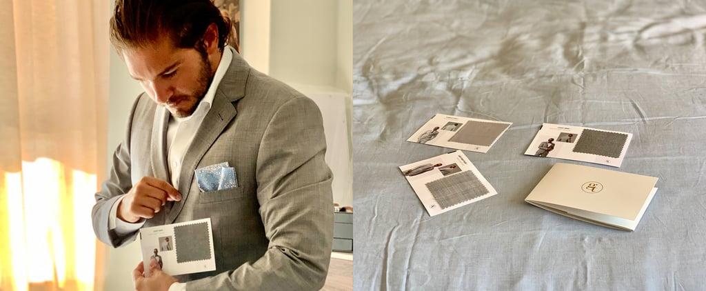 My Fiancé Chose His Wedding Tux Virtually During COVID-19