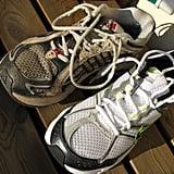 Exercising in Old Sneakers