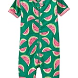 The best Summer sleepwear ($25) is bright (check) and fun (check) and zips up, so it doesn't take mom more than 30 seconds to get it on (check)!