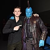 With Michael Rooker as Yondu.