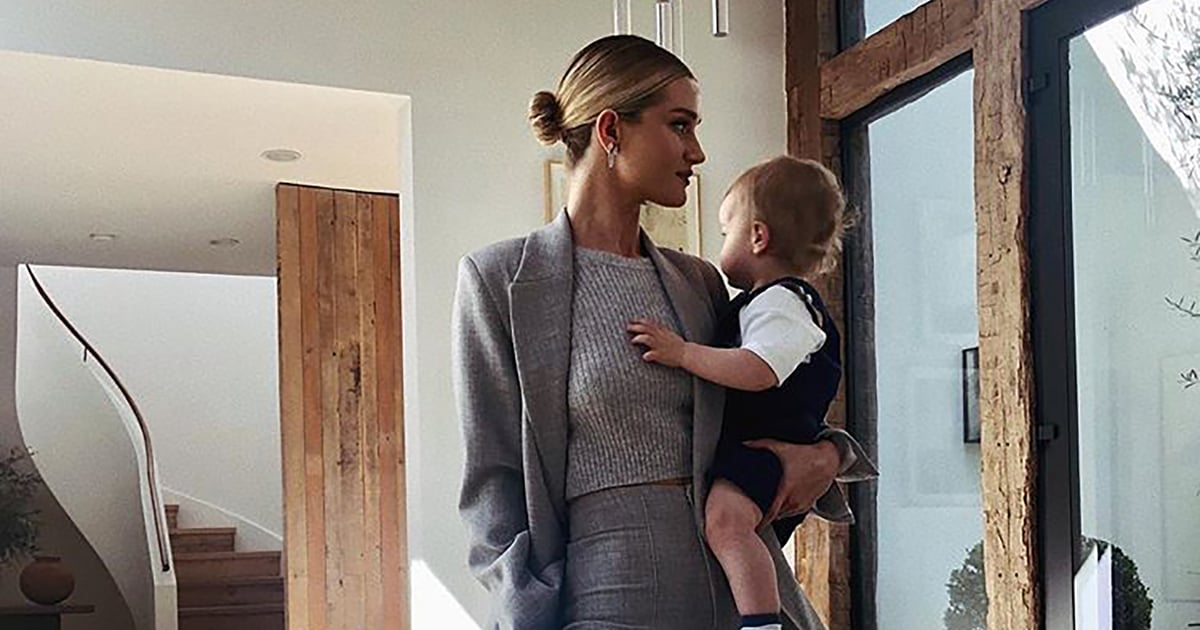 Meet Rosie Huntington-Whiteley and Jason Statham's Son, Who Has a Proper British Accent