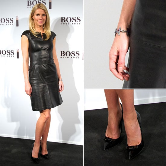 Shop Gwyneth Paltrow's Chic Leather Dress  Look Online