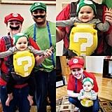 1UP Box, Mario, and Luigi