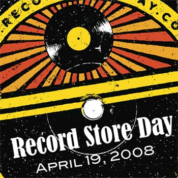 Saturday April 19 is Record Store Day