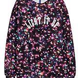 Christmas-Motif Sweatshirt