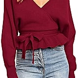 R.Vivimos Wrap Sweater