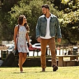 Lea Michele and her boyfriend, Matthew Paetz, stepped out together in LA on Wednesday.