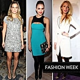 If you're wondering what celebs donned for their Fashion Week front-row appearances, we've got all the most stylish looks rounded up in one place.