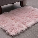 Soft Faux Fur Sheepskin Shag Rug
