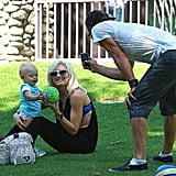 Photos of Gwen, Gavin, Kingston, Zuma