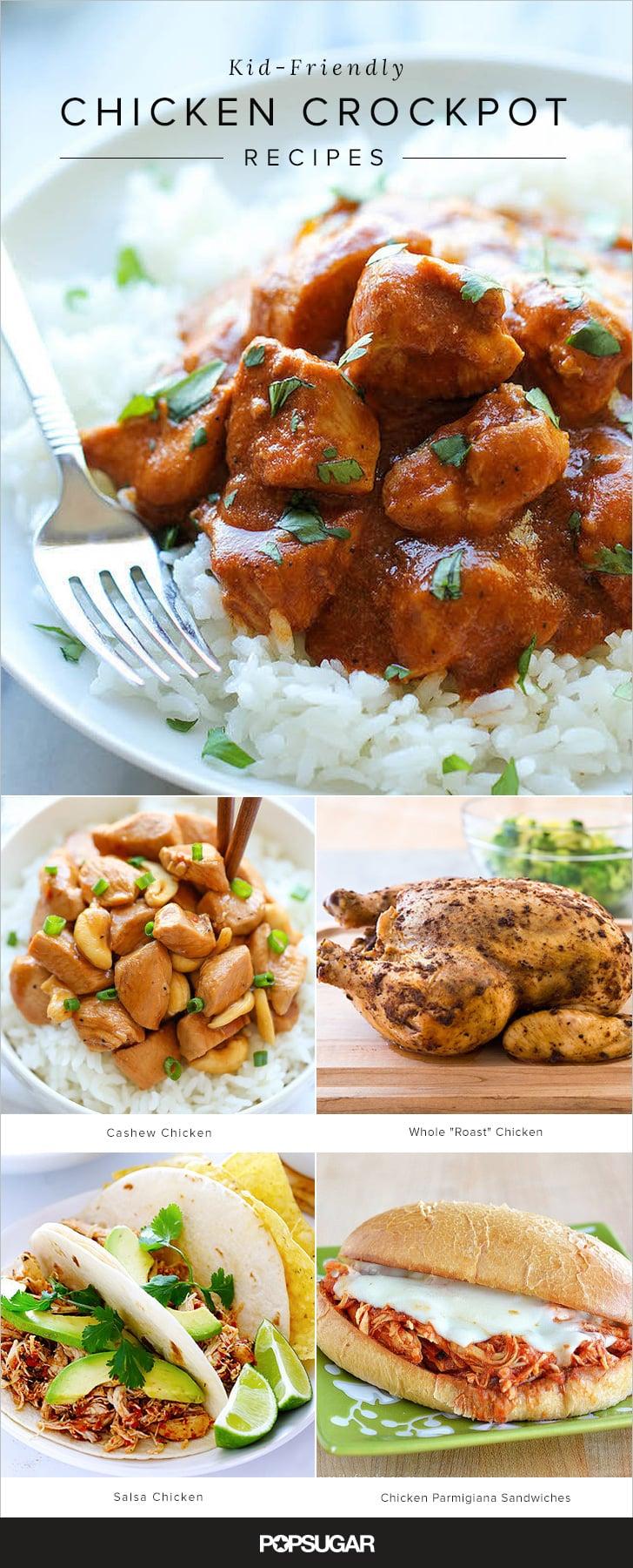 Kid-Friendly Crock Pot Chicken Recipes