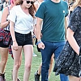 Robert and Kristen Keep the Coachella Fun Coming at Day 2