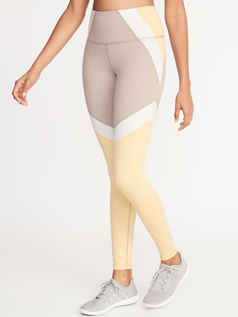 Old Navy High-Rise Elevate Colorblock Compression Leggings