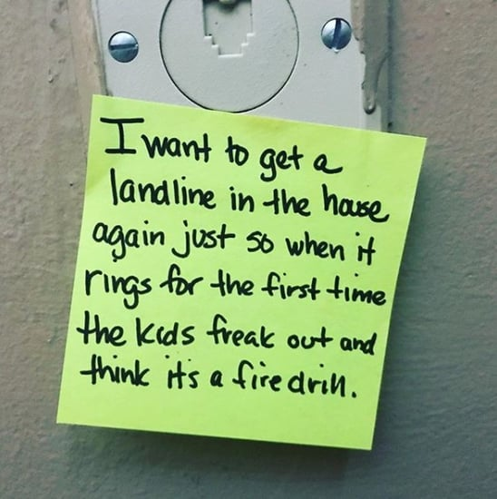Dad's Funny Post-It Notes