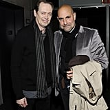Stanley Tucci and Steve Buscemi attended a Rampart screening in NYC.