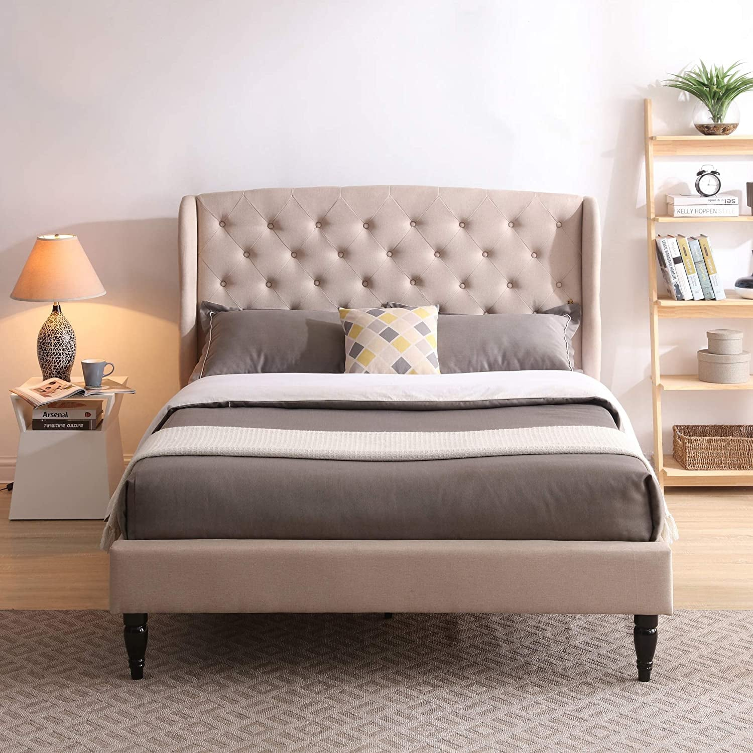 Picture of: The Best Upholstered Beds And Headboards Popsugar Home