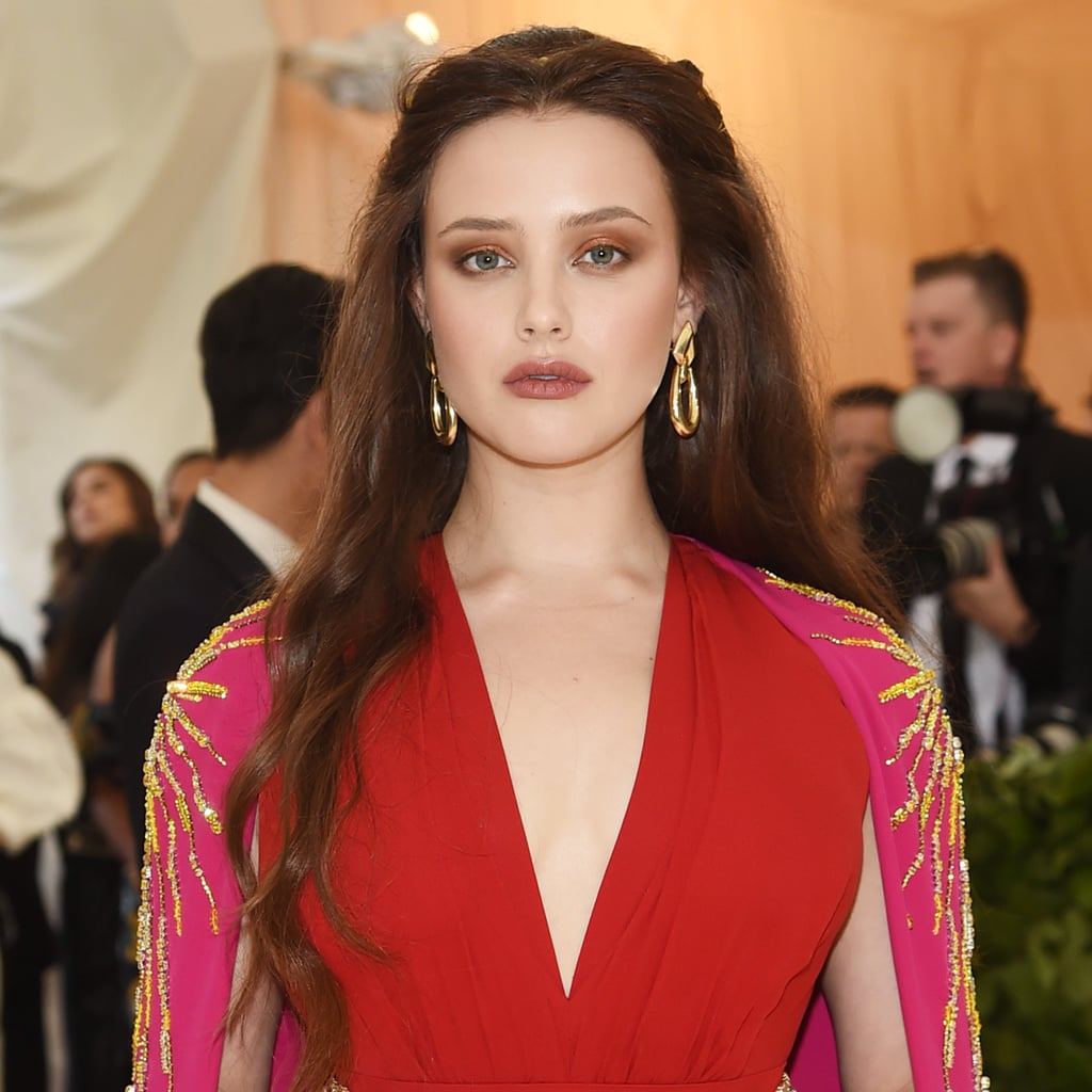 Katherine Langford Wearing Prada Dress at Met Gala 2018