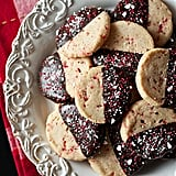Dark-Chocolate-Dipped Peppermint Shortbread