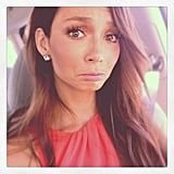 Ricki-Lee lost her voice before a performance — cue terror! Source: Instagram user therickilee