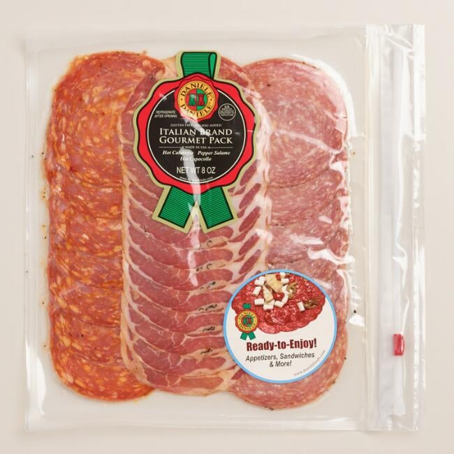 17 Best Images About Cost Plus World Market Food And More: Daniele Italian Brand Spicy Gourmet Salami Pack ($18 For A