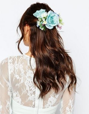 Asos Bridal Mid Flower Hair Corsage